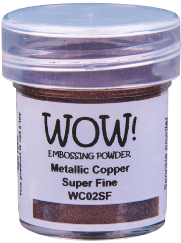 WC02 Metallic Copper (Large Jar)